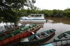 Barco vira sala de aula no Rio Gravataí Tadeu Vilani/Agencia RBS