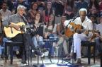 """Caetano Veloso e Gilberto Gil comentam manifestações sociais no """"Altas Horas"""" Reinaldo Marques/Globo/Divulgação"""