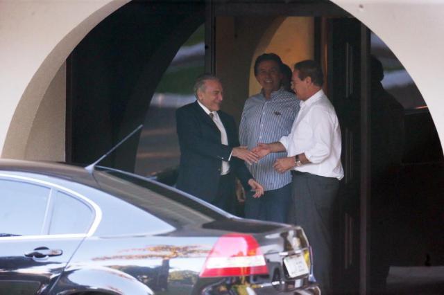 Acordo entre Renan e Temer tira o PMDB do governo ANDRÉ DUSEK/ESTADÃO CONTEÚDO/ESTADÃO CONTEÚDO