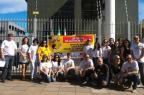 Servidores do Ministério Público fazem paralisação em Santa Maria Gisele Vieira Vilarino/Arquivo Pessoal