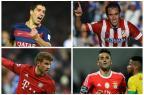 Barcelona x Atlético de Madrid e Bayern x Benfica abrem quartas da Liga dos Campeões nesta terça Montagem sobre fotos / AFP/AFP