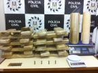 40 quilos de maconha são apreendidos em Porto Alegre Polícia Civil / Divulgação/Divulgação