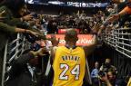 A lenda diz adeus: o último jogo da carreira de Kobe Bryant Stacy Revere/AFP