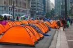 Acampamento do movimento moradia para todos
