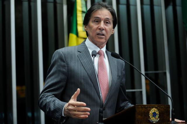 Senado votará relatório sobre abuso de autoridade em maio, prevê Eunício Marcos Oliveira / Agência Senado/Agência Senado