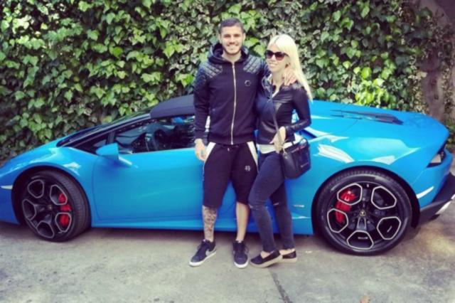 Icardi e wanda nara ostentam compra de carro avaliado em for Prezzo del garage 16x20