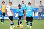 Grêmio acerta últimos detalhes em treino antes de enfrentar o Toluca
