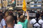 Funcionários do HPS protestam por mais segurança após tiros no local Vitor Rosa/Rádio Gaúcha