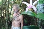 Amigos criam petição para evitar que morador tenha que desocupar caverna onde vive há 26 anos em SC Karuna Gargantiel/Divulgação