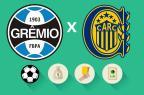 Grêmio x Rosario Central: estatísticas, renda e público, saiba como foi a partida Arte ZH/Agência RBS