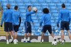 Manchester City recebe o Real Madrid pela semifinal da Liga dos Campeões PAUL ELLIS/AFP