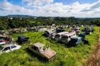 Mil veículos em depósito que pertenceu ao Detran estão abandonados há dois anos Omar Freitas/Agencia RBS