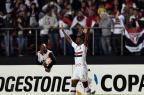 São Paulo goleia Toluca por 4 a 0 e fica próximo das quartas de final NELSON ALMEIDA/AFP