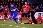 Boca Juniors vence Cerro Porteño por 2 a 1 no Paraguai (Pablo Burgos/AFP)