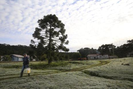 Moradores da Serra catarinense contam como é viver na região mais fria do país (Leo Munhoz/Agencia RBS)