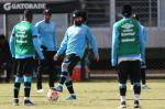 Treinamento do Grêmio no sábado