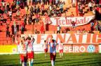 Inter-SM vence o Santa Cruz e crava a permanência na Divisão de Acesso Maiara Bersch / Agência RBS/Agência RBS