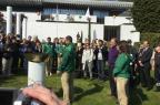 Na Suíça, tocha olímpica é repassada à comitiva brasileira Rafael Diverio/Agência RBS