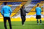 Roger comanda treino em Rosario e mantém dúvida na lateral esquerda Félix Zucco / Agência RBS/Agência RBS