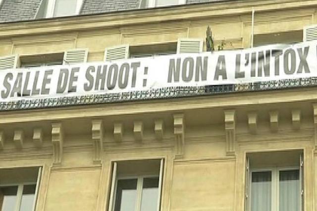 Paris abre primeira sala de consumo de drogas na França BFMTV/Reprodução