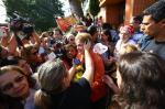 Grupo de mulheres faz ato em apoio a Dilma em Porto Alegre
