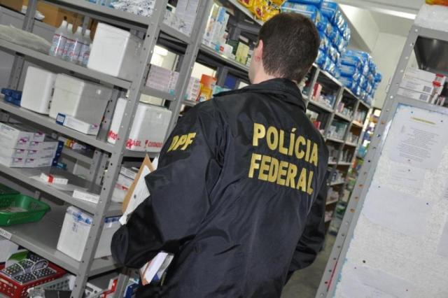 Investigação sobre fraude em compra de remédios chega a três cidades do Estado Polícia Federal/Divulgação