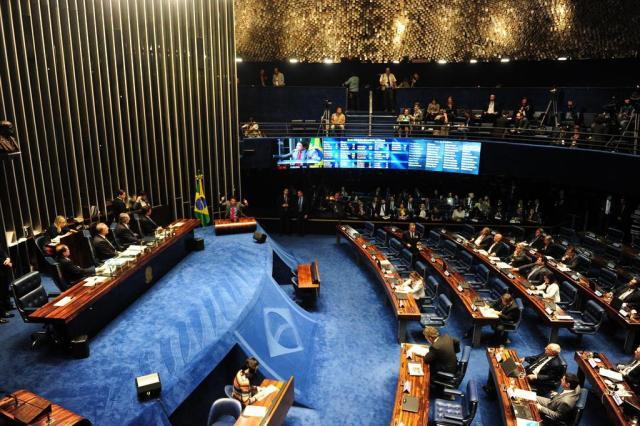 Senado aprova abertura de processo de impeachment contra Dilma Diego Vara/Agencia RBS
