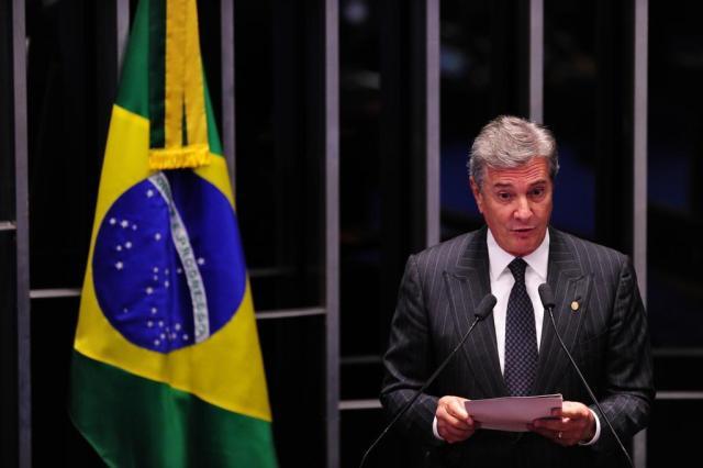 Janot acusa Collor por 30 crimes de corrupção Diego Vara/Agencia RBS