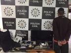 Homem é preso ao reagir contra policiais que cumpriam mandados em casa de vizinho Polícia Civil / Divulgação/Divulgação