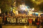 Porto Alegre tem ato contra Temer e Eduardo Cunha