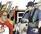 Conheça o protocolo que orienta a atuação da força policial em manifestações e bloqueios de vias Arte ZH/