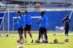 Grêmio treina finalizações, e Roger orienta trabalho específico para volantes