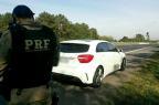 PRF flagra Mercedes-Benz a 193 km/h na freeway, em Glorinha PRF/Divulgação