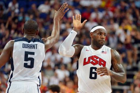 Horários do basquete masculino e feminino nos Jogos são divulgados pelo Comitê Organizador (MARK RALSTON/AFP)