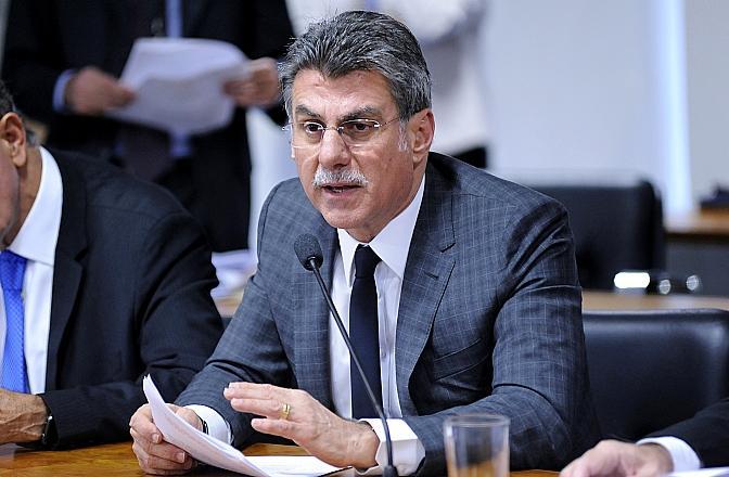 Jucá propõe PEC para blindar membros da linha sucessória da Presidência