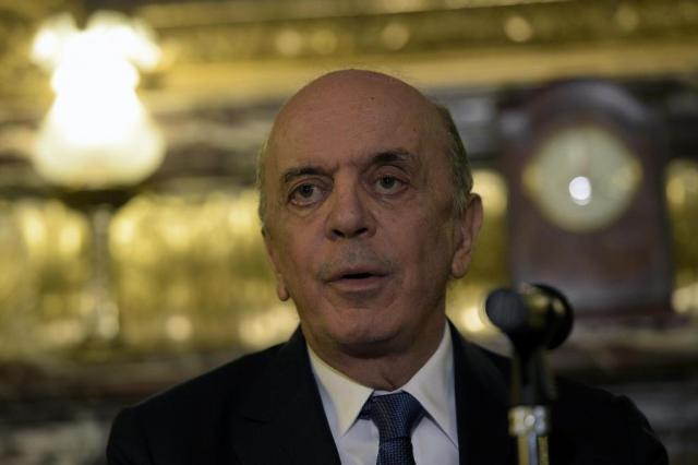José Serra recebeu R$ 23 milhões da Odebrecht, diz jornal JUAN MABROMATA/AFP
