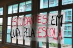 Estado quer dialogar com estudantes, mas não descarta acionar a Justiça para desocupação Roni Rigon/Agencia RBS