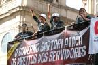 Professores em greve fazem ato em Porto Alegre com apoio de estudantes que ocupam escolas Fernando Gomes/Agencia RBS