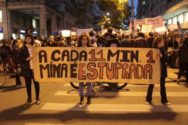 Um terço dos brasileiros culpa mulheres por serem vítimas de estupros, aponta pesquisa André Ávila/Agencia RBS
