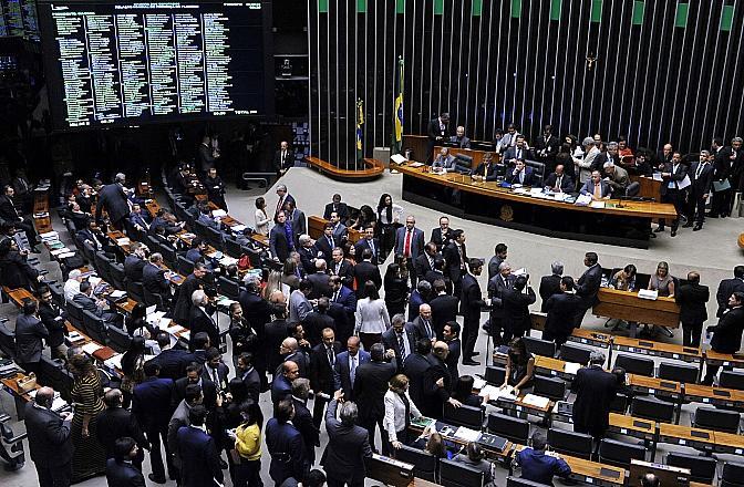 Oposição pede a Maia que denúncia contra Temer siga rito do impeachment Luis Macedo / Câmara dos Deputados/Câmara dos Deputados