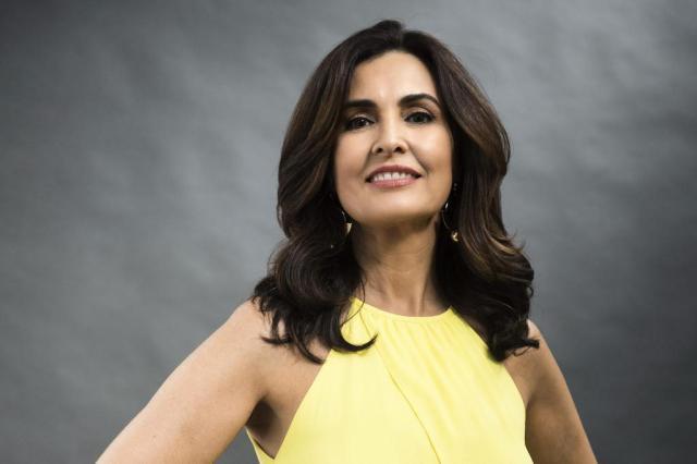 """Fátima Bernardes desabafa durante programa: """"Casamento e prisão é quase a mesma coisa"""" Sergio Zalis/TV Globo/Divulgação"""