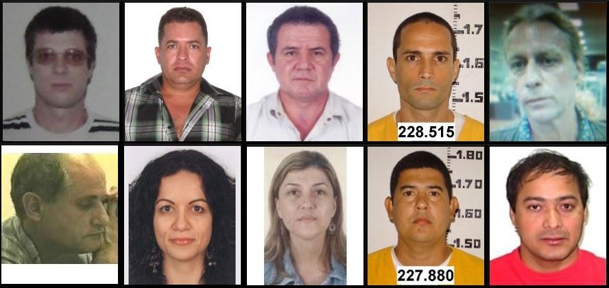79bb04842 Dois catarinenses estão na lista dos 10 criminosos mais procurados pela  Interpol no Brasil - Diário Catarinense