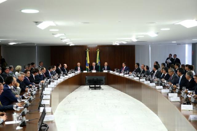 """""""Solidariedade federativa"""" garantiu renegociação de dívidas, dizem governadores Wilson Dias / Agência Brasil/Agência Brasil"""