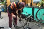 Veja onde fazer pequenos reparos de graça na sua bicicleta na Capital (Jéssica Rebeca Weber/Agência RBS)