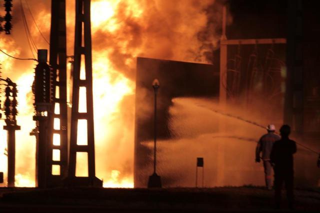 Incêndio deixa Esplanada sem energia e sessão do impeachment é encerrada LUIS NOVA/FRAMEPHOTO/ESTADÃO CONTEÚDO