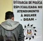 Polícia prende suspeito de colocar fogo na casa da ex em Santa Maria Polícia Civil/Divulgação
