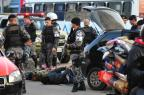 Após tiroteio, BM cerca carros e prende oito suspeitos na Capital Adriana Franciosi/Agencia RBS