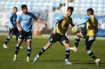 Grêmio treina na Arena antes do Gre-Nal