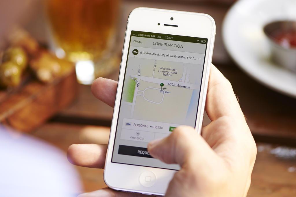 Vereadores analisam nesta segunda-feira pedido de urgência para votação de projeto do Uber  Uber/Divulgação