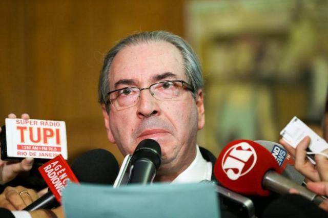 Eduardo Cunha renuncia à presidência da Câmara dos Deputados Marcelo Camargo/Agência Brasil